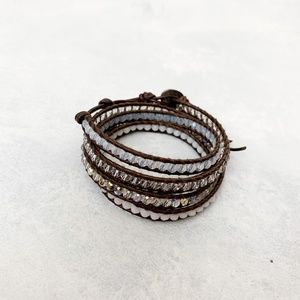 Chan Luu Multi Crystal Mix Wrap Bracelet